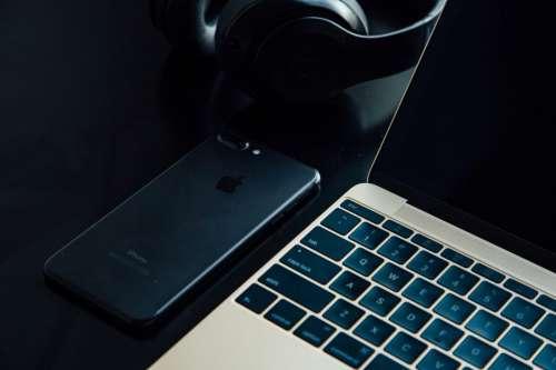 Mobile Phone & Laptop