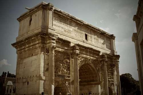 Arch Constantine Rome