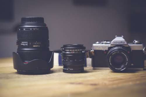 Camera Lens Collection