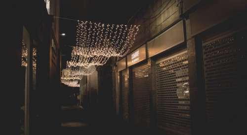 Christmas Lights Sidestreet