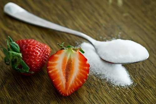 Strawberries Spoon Sugar