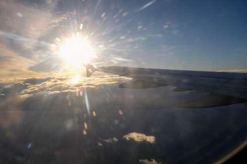 Sun Burst In the Sky