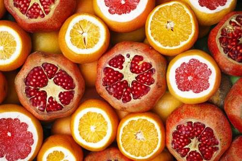 Pomegranate & Oranges