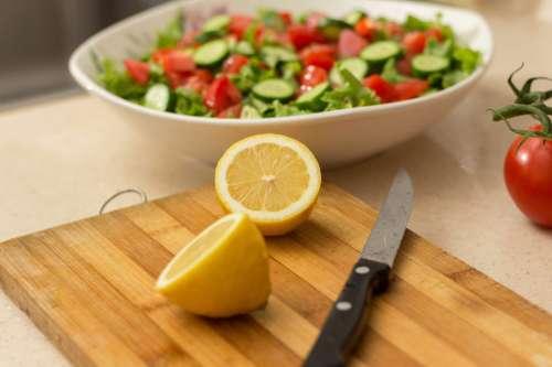 Lemons and Salad