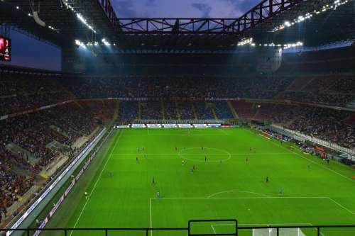 San Siro Stadium in Milan
