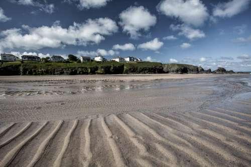 Sandy Beach, Cornwall