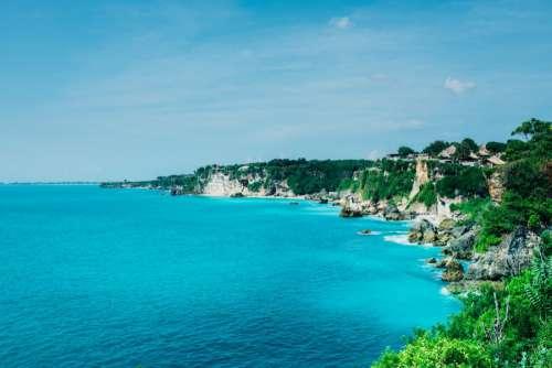 Bali Beach & Blue Sea
