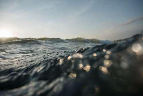 Waves & Blue Sky