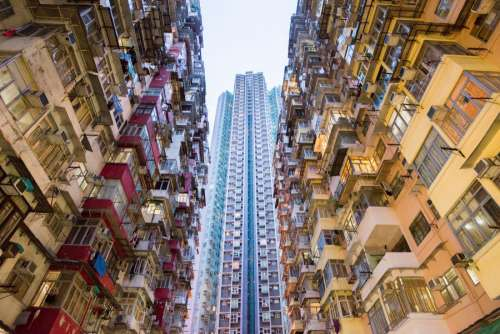 Hong Kong Skyscraper Building