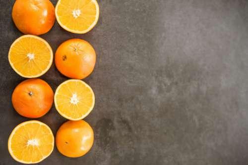 Line of Oranges