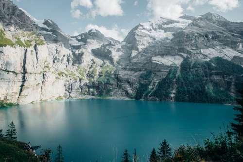 Crystal Clear Alpine Lake