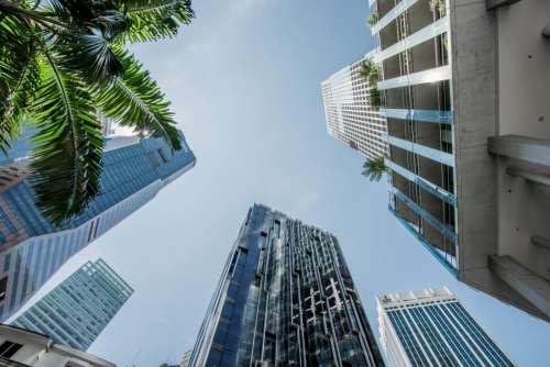 Building & Clear Blue Sky