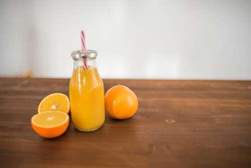 Orange Slices & Juice