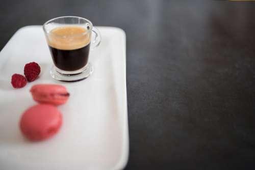 Macaron and Coffee