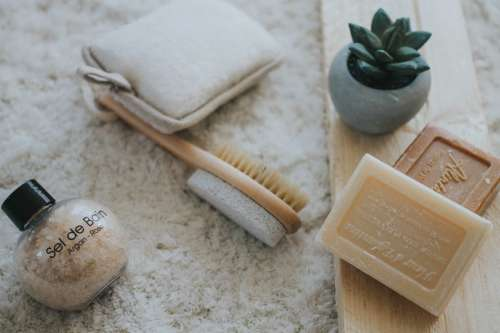 Soap, Brush & Spa Products