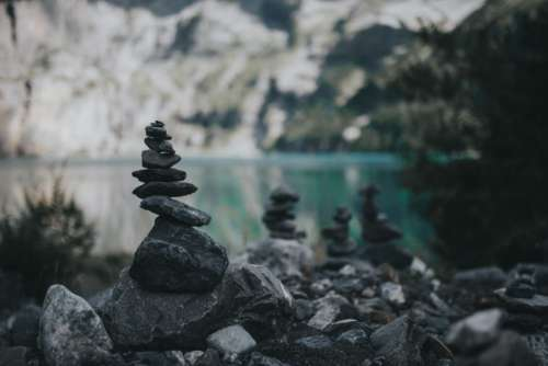 Serene Stone Stack