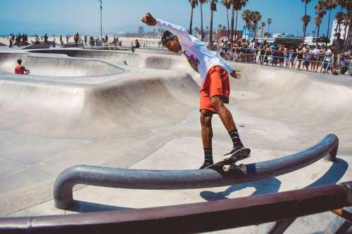 Skater in LA