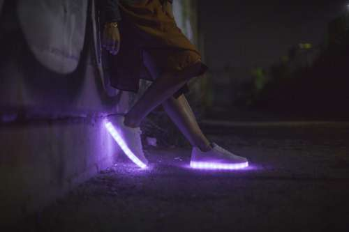 Lights in Sneakers