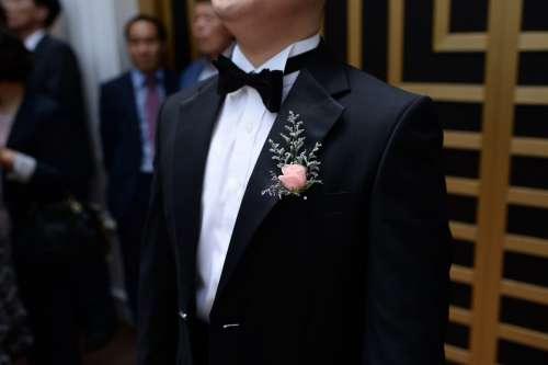 Wedding Groom in Tuxedo