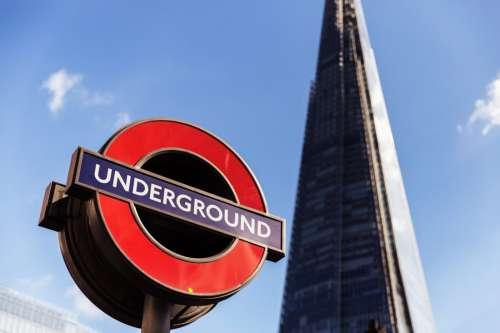 London Shard Underground