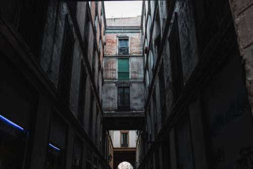 Townhouses in Barcelona, Spain