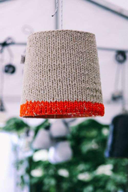 Woolen lamp covers