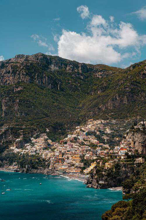 Views from Amalfi Drive - Strada Statale 163, Amalfi Coast, Italy