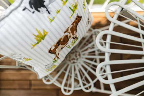 Country-style Balcony Decorations