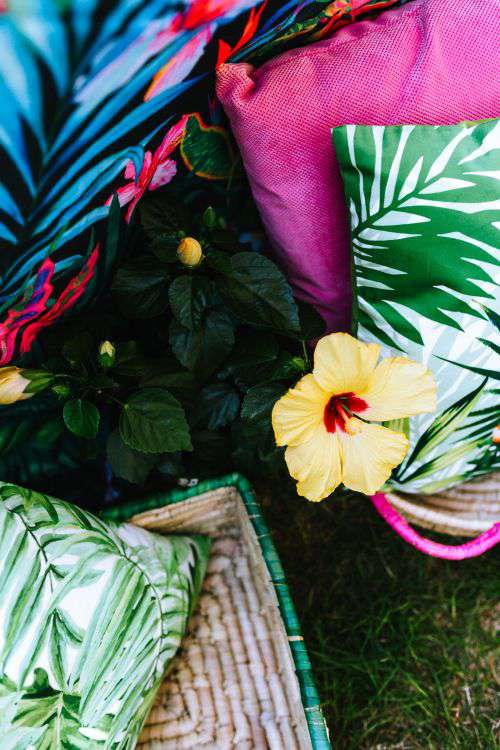 Exotic Garden Party Decorations