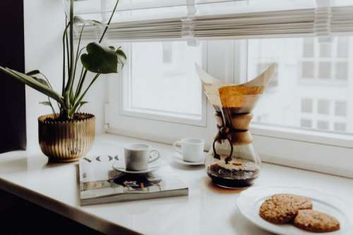 Brewing third wave coffee with Chemex