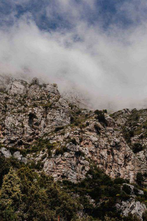 Views from Amalfi Drive - Strada Statale 163, Amalfi Coast, Italy