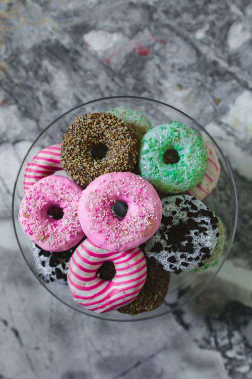 Colorful donuts