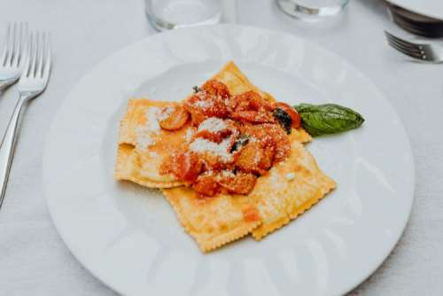 Delicious Italian food from the Amalfi coast
