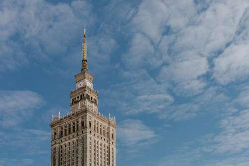 Palace of Culture and Science (Polish: Pałac Kultury i Nauki; PKiN), Warsaw, Poland