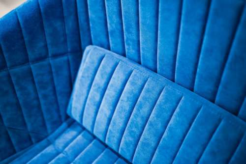Soft blue sofa