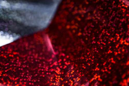 Red Holographic Paper Backgrounds
