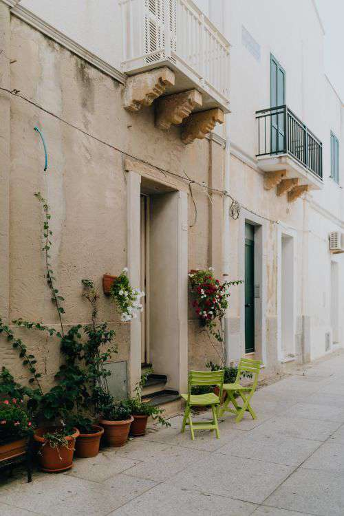 Calasetta a small town located on the island of Sant'Antioco, off the Southwestern coast of Sardinia, Italy