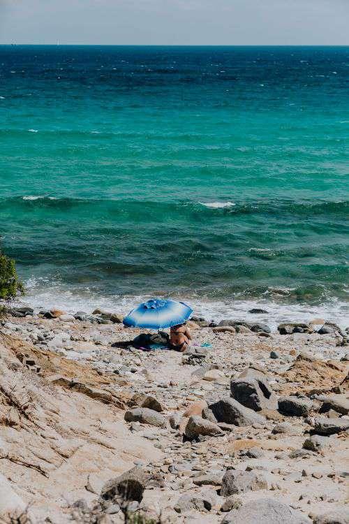 Beautiful sea coastline, Sardinia, Italy