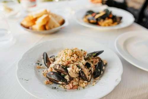 Delicious Italian food from the Amalfi coast