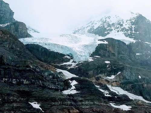 glacier Athabasca Glacier Columbia Icefield Canadian Rockies environment