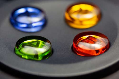 Game Controller Buttons Free Photo