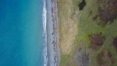 Aerial Beach Free Photo
