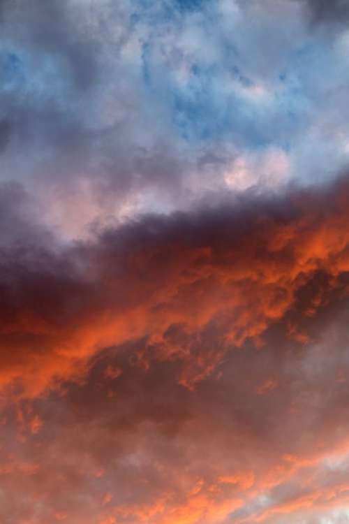 Colorful Sunset Clouds Free Photo