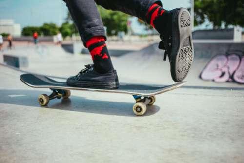 Skateboarding Closeup Free Photo