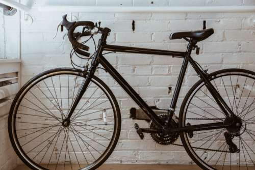 Black Bicycle Free Photo
