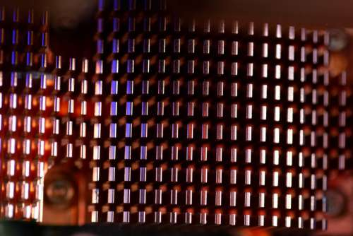 Computer Heat Sink Free Photo