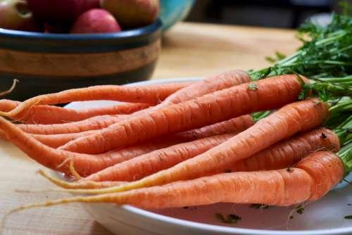 Carrots Dinner Free Photo