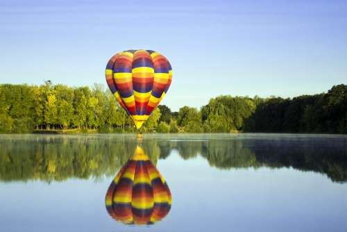Hot Air Balloon Free Photo