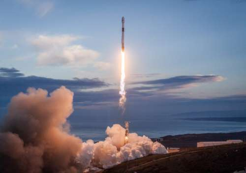 Space Rocket Smoke Free Photo