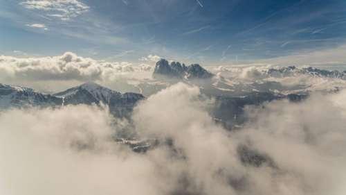 Aerial Mountains Free Photo